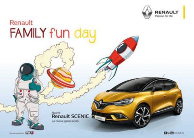Family Fun Day para Renault